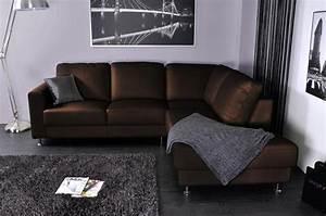 Canapé D Angle Cuir Marron : photos canap d 39 angle cuir vieilli marron ~ Teatrodelosmanantiales.com Idées de Décoration