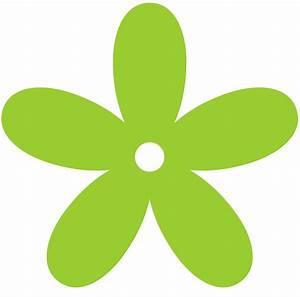 Green Flower Clip Art - ClipArt Best