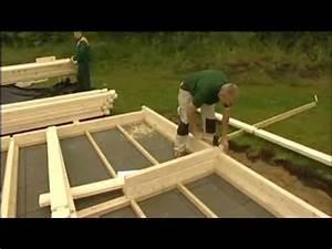 montage maison bois en kit autoconstruction youtube With maison en rondin prix 6 construire sa maison en bois en kit soi meme