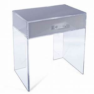 more acrylic furniture finds for a sleek style With acrylic cube coffee table