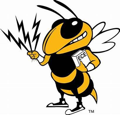 Georgia Tech Hornet Clipart Yellow Jackets Transparent