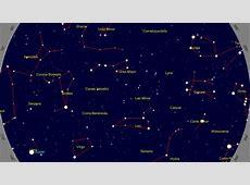 El cielo en el mes de abril UNIVERSO Blog
