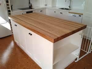 kitchen island with butcher block butchers block table tops islands trolleys benchtop