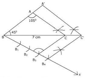 ncert solutions class  maths chapter  constructions