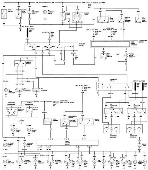 86 Ford Truck Radio Wiring Harnes Diagram by Wrg 8370 1987 Corvette Radio Wiring Diagram