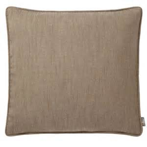 Clearence Curtains by Adara Linara Taupe Feather Filled Cushion 43 X 43 Cms