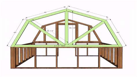 gambrel house plans gambrel roof house plans home design