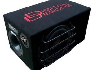 digital design subwoofer digital designs ddle mini8 passive subwoofer subwoofers talk audio car audio magazine