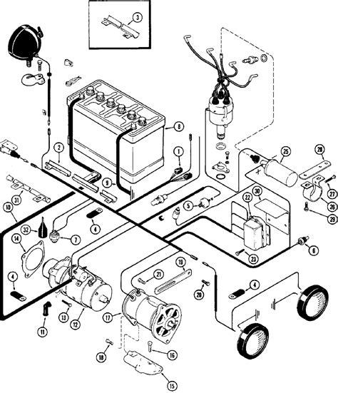 case  starter wiring diagram wiring diagram