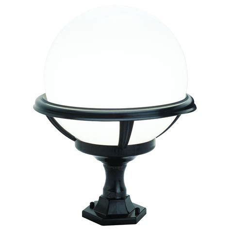 newport coastal outdoor black pier post top light