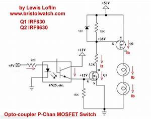 High Voltage Mosfet Switching Circuits