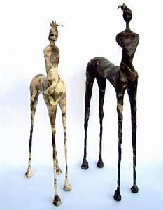 Sculpture En Papier Maché : animals figurative paper ~ Melissatoandfro.com Idées de Décoration