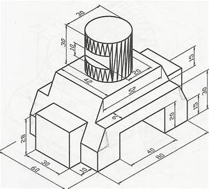 Tutorial 14  3d Engineering Drawing 1  Auto Cad