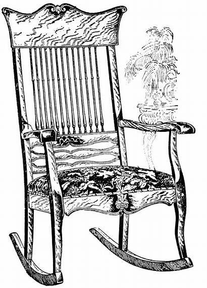Rocking Chair Clipart Etc Medium