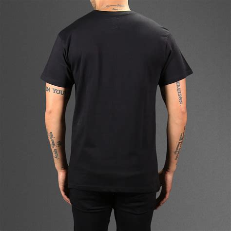 We Care T Shirt Black thug with no t shirt wehustle menswear
