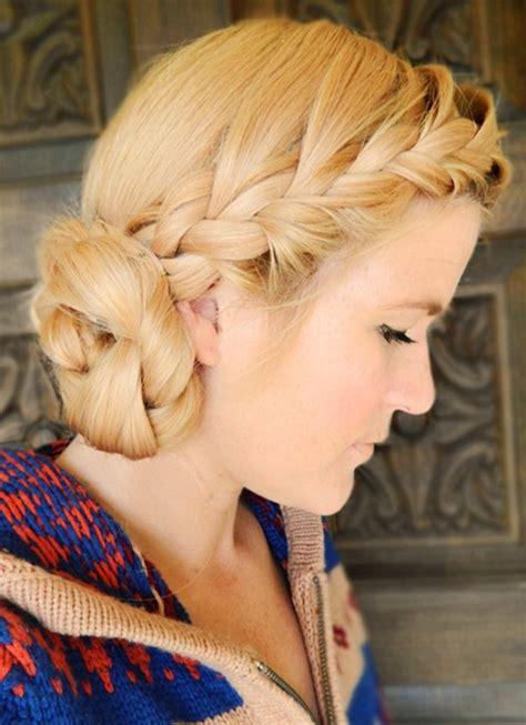 10 side bun tutorials low messy and braids updos