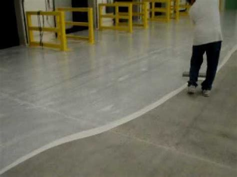 Steel Trowel Epoxy Coating on Concrete Surface   YouTube