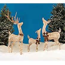 amazon com reindeer lawn decorations