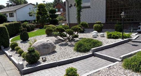 Moderne Vorgärten Mit Kies by Sch 246 Ne Vorg 228 Rten Mit Steinen