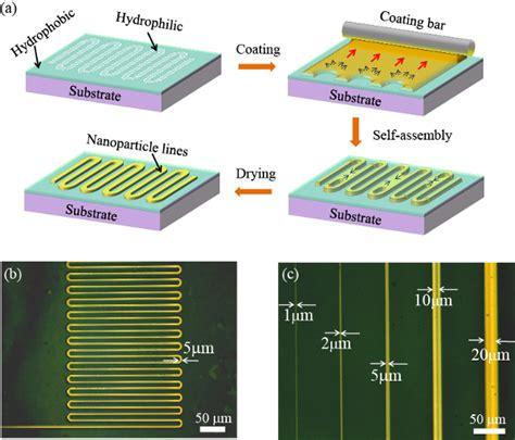 Electronic Circuits Printed Micron Resolution Nims