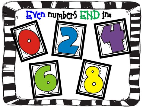 Even Numbers Clipart
