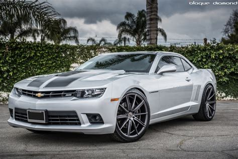 Car Chevrolet Camaro Ss Palm Trees Wallpapers Hd