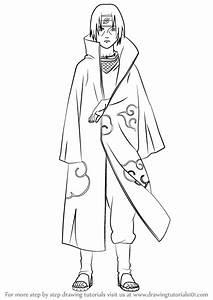 Learn How to Draw Itachi Uchiha from Naruto (Naruto) Step ...