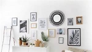 Accrocher Au Mur Sans Percer : accrocher cadre sans percer cool find this pin and more ~ Premium-room.com Idées de Décoration