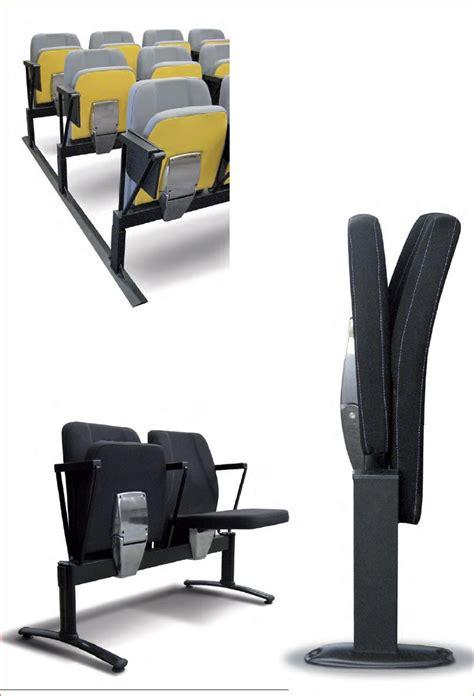 siege amovible sièges confort cinema pour salle polyvalente sur rail cal