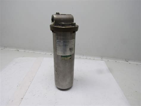 cuno ct stainless steel cartridge filter housing