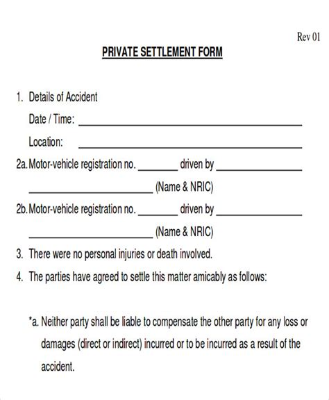 auto accident release of liability form pdf release of liability form ideasplataforma