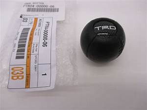 Lexus Oem Factory Trd Leather Shift Knob 2002