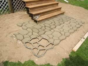 Mold to Make Concrete Pavers LoveToKnow