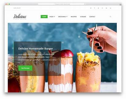 Website Delicious Template Templates Restaurant Hotel Colorlib