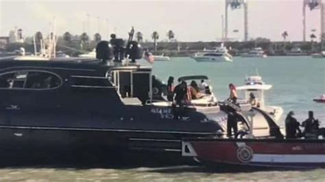 Miami Vice Boat Death by Authorities Investigating Death Of Boater Near Miami Beach