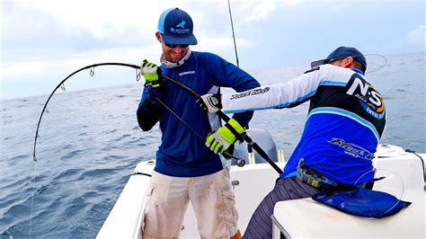 fishing grouper tackle monster spinning blacktiph equipment challenge