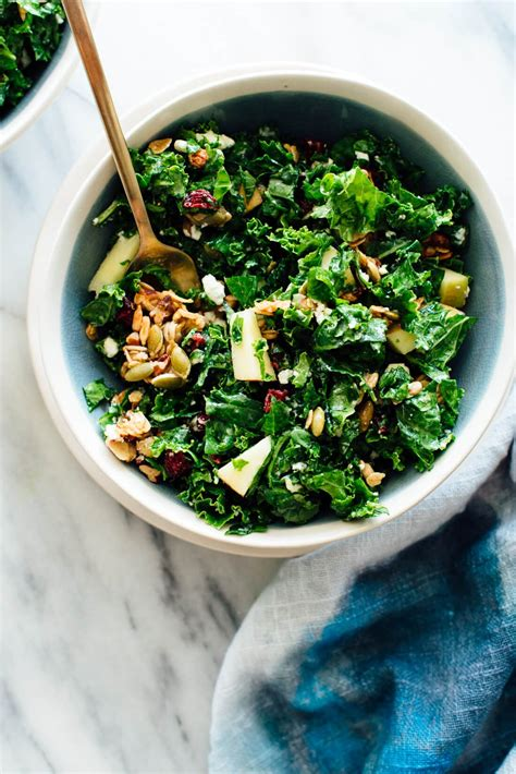 kale apple salad  granola croutons cookie  kate