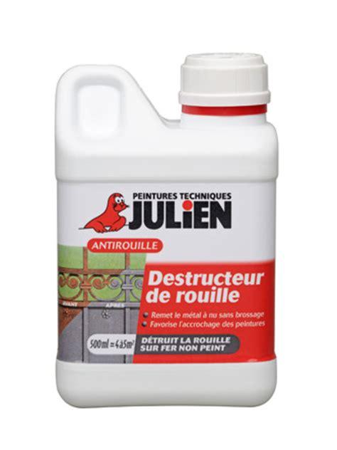 produit pour enlever la rouille sur carrelage destructeur de rouille peintures julien