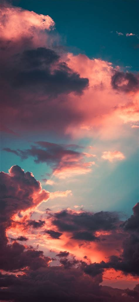 Aesthetic Best Wallpapers For Iphone Xr by My Favourite Cloudscape Of The Year Iphone X Wallpaper