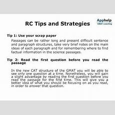 Gmat Reading Comprehension (rc)  Apphelp Gmat Coaching Youtube