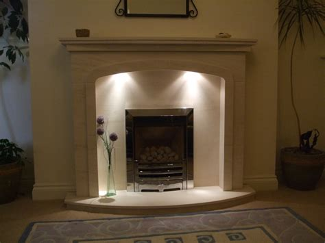 Portuguese Limestone Fireplace by Portfolio The Fire Barn
