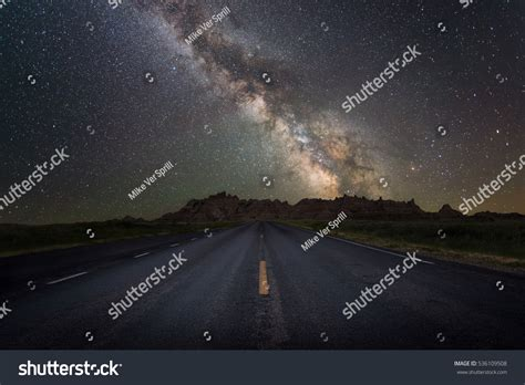 Road Milky Way Galaxy Stock Photo Shutterstock