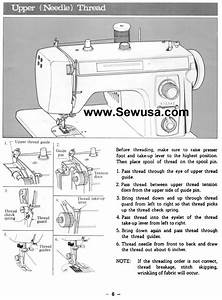 Brother 461 761 606 607 Sewing Machine Threading Diagram