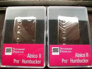Smokey B U0026 39 S Seymour Duncan Humbucker Pickup Set Alnico Ii