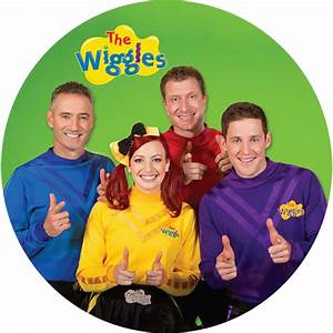 The Wiggles Round Edible Icing Cake Image Kids Themed