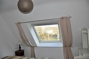 Rideau Pour Velux : rideau tissu pour velux ~ Edinachiropracticcenter.com Idées de Décoration