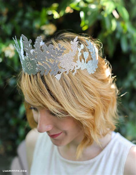 diy fairy paper crown lia griffith