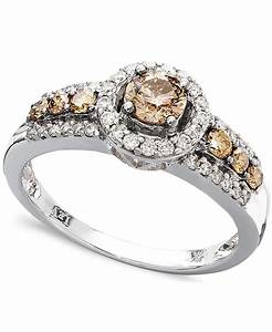 le vian chocolate and white diamond ring in 14k white gold With levian wedding rings