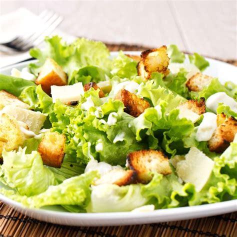 cuisine sans sel recette salade césar facile rapide