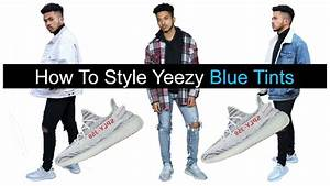 Outfit Yeezy Blue Tint